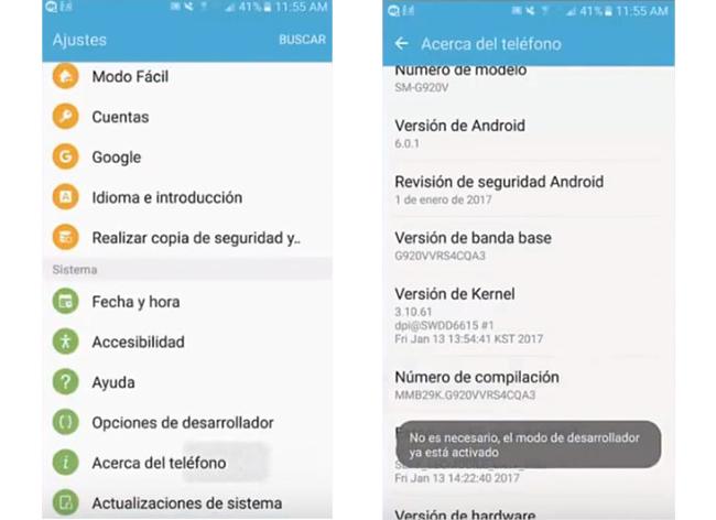 eliminar aplicaciones preinstaladas android