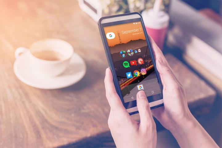 Launcher en teléfono con Android