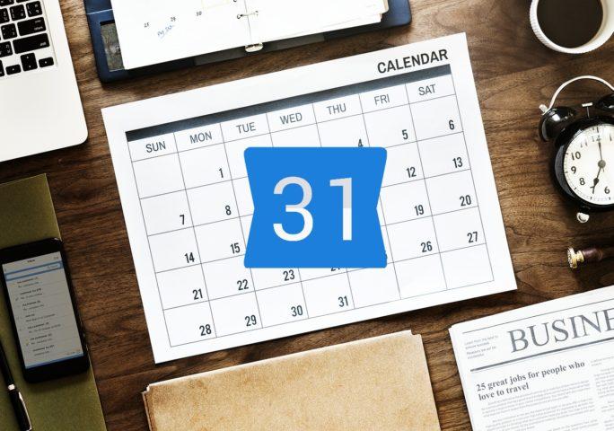 Calendario compartido Google