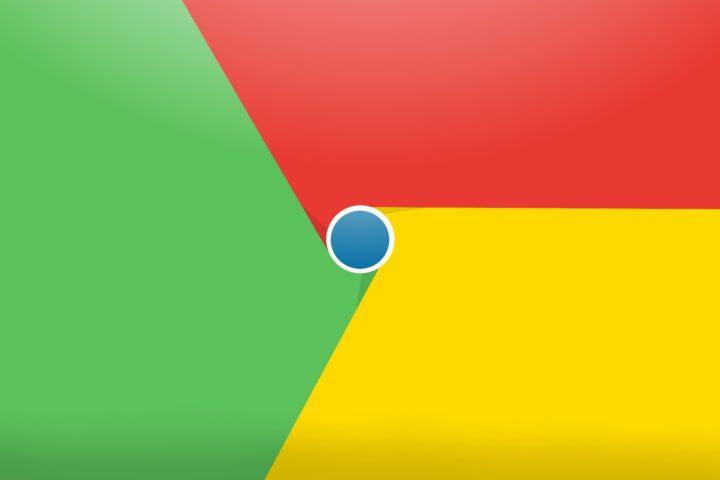 Logo colores Chrome para Android