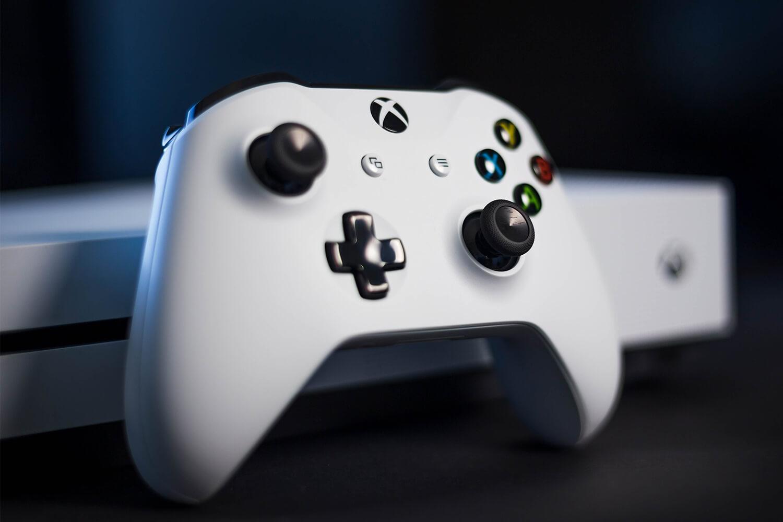 Mando Blanco de la Xbox One