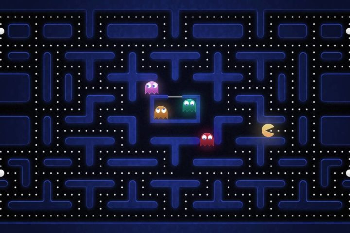 Juego retro Pac-Man