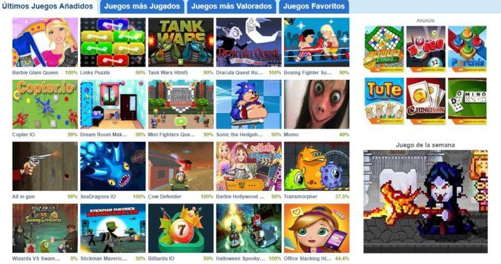 Web juegos diarios
