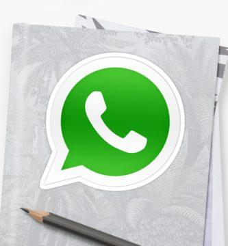 Logotipo WhatsApp con fondo gris