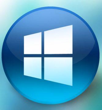 Logotipo Windows 10 en círculo