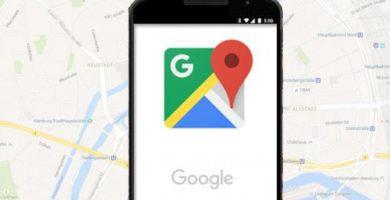 Logotipo de Google Maps con fondo