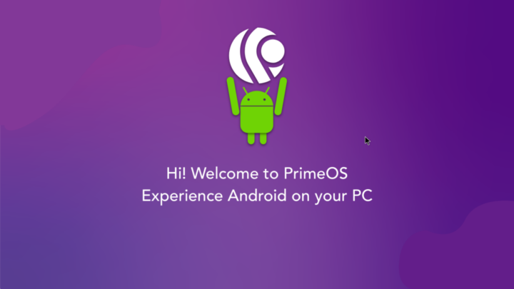 Inicio Android en el ordenador