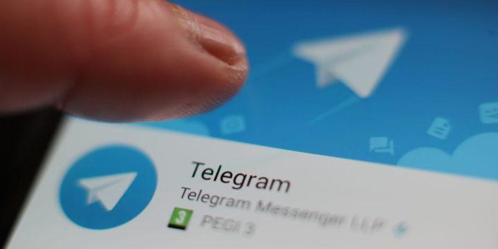 Uso aplicación Telegram