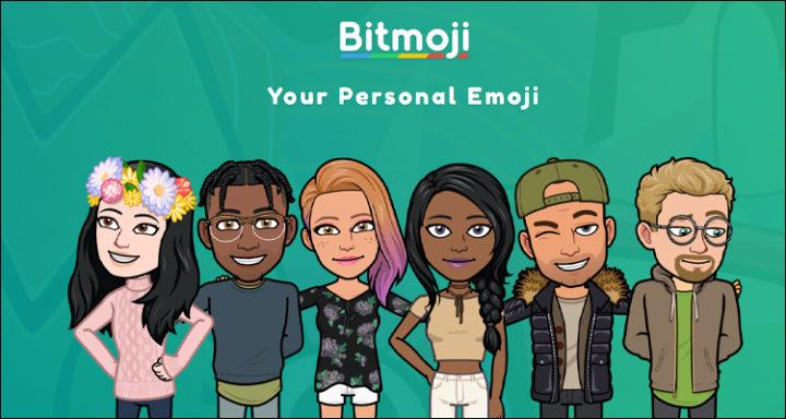 Aplicación bitmoji