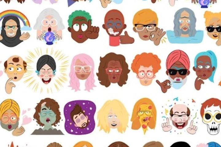 Emojis Android cara