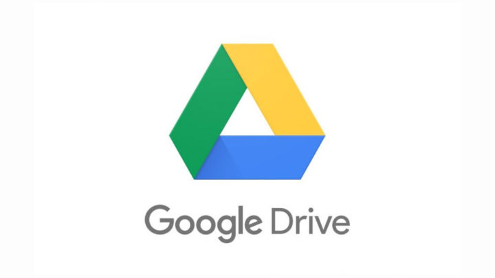 Logotipo de Google Drive con fondo blanco