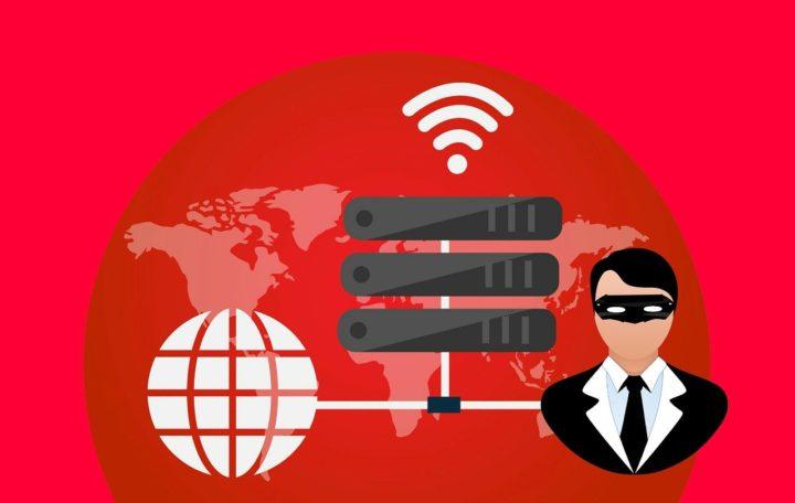 Imagen VPN con fondo rojo