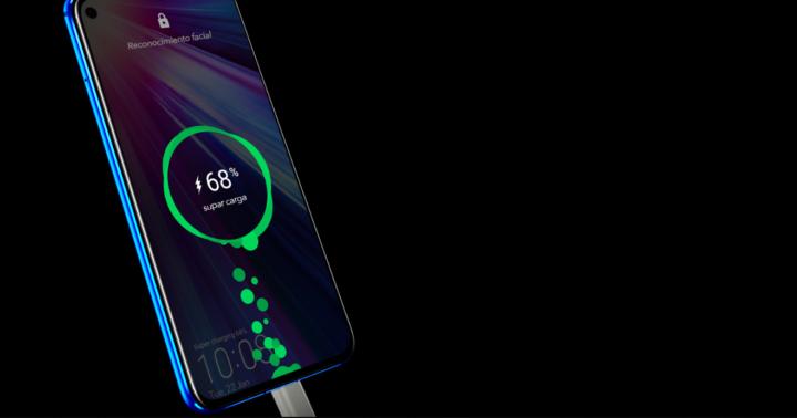 Carga de la batería de un smartphone