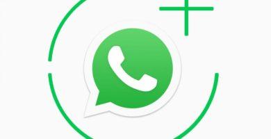 Logotipo de WhatsApp con fondo blanco