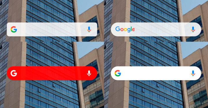 Widget de Google en Android