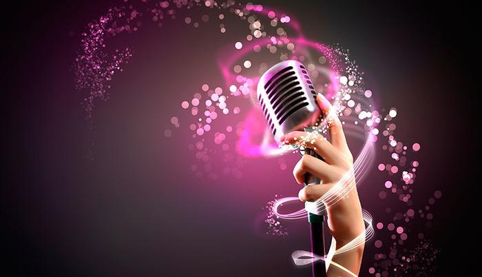 Micrófono para utilizar karaoke