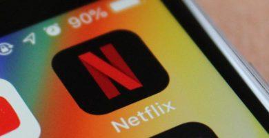Icono Netflix smartphone