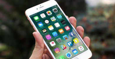 Aplicaciones en un smartphone