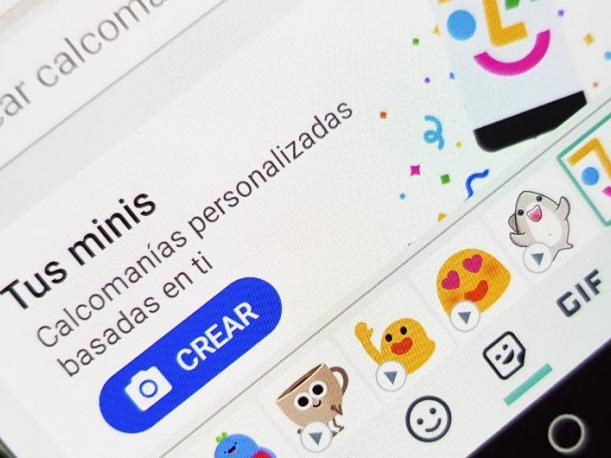 Uso de Emoji Mini para Android