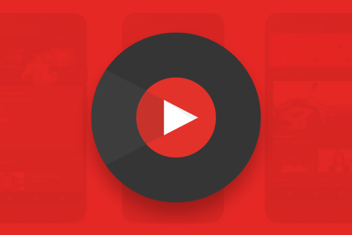 Logotipo de YouTube Music