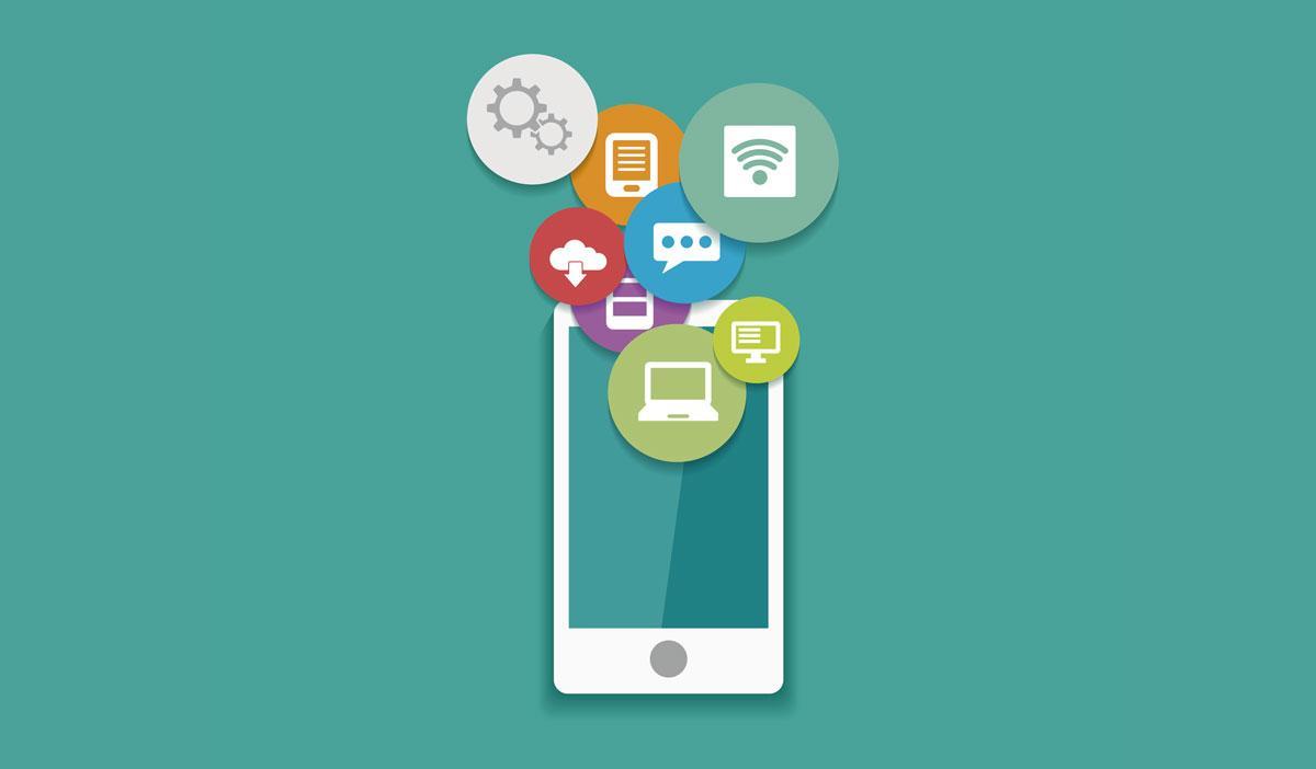 Smartphone con datos moviles