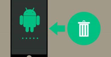 Logo Archivos eliminados Android
