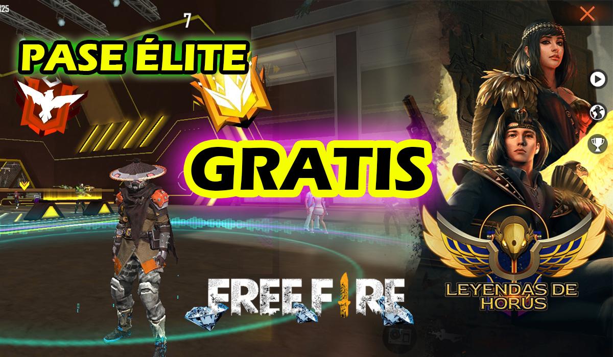 Así puedes conseguir el pase élite gratis en Free Fire