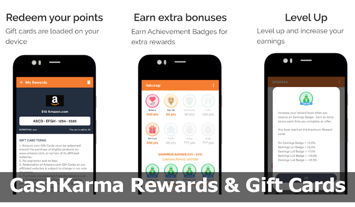 CashKarma Rewards & Gift Cards